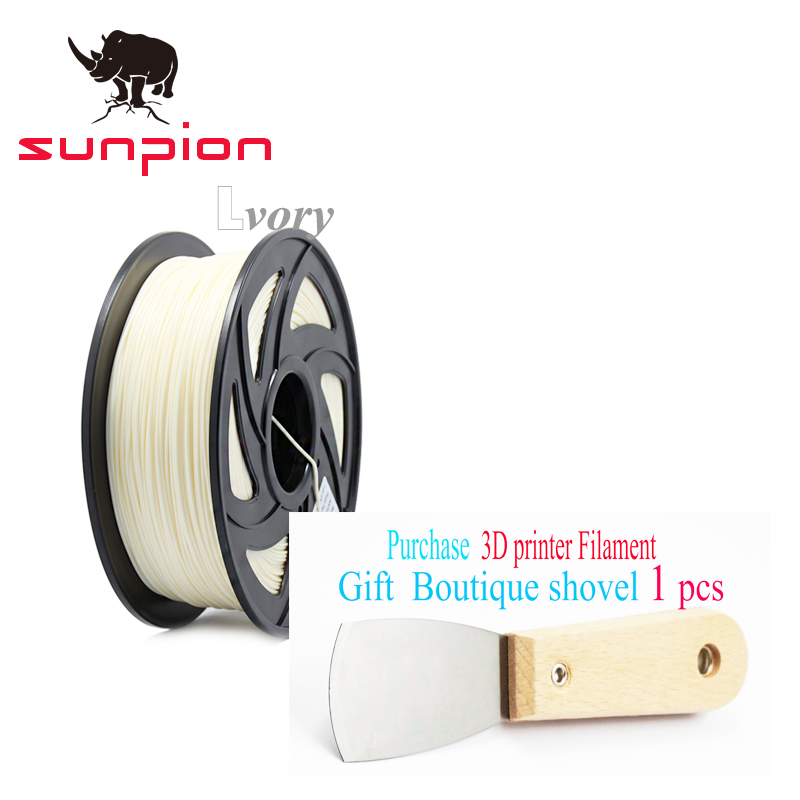 Sunpion 3D Printer Filament PLA 1.75mm material Plastic Rubber Consumables Material for 3d Pen Printer rq wooden 3d printer filament pla 1 75mm 3d wood printing materials 1kg plastic rubber consumables material