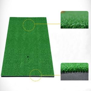 Image 4 - 裏庭ゴルフマットゴルフトレーニングエイズ屋外/屋内打撃パッド練習草マットゲームゴルフトレーニングマット草の根 60x30cm