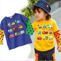 2016 новый весна осень детские Футболки детские производители одежды продаже Корейских детей
