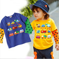 2016 new spring autumn children T-shirt children's clothing manufacturers selling Korean children