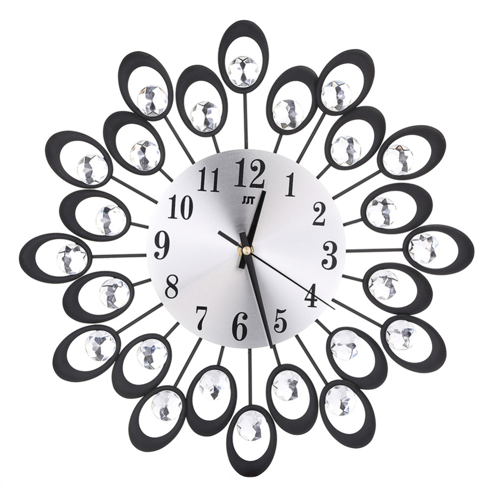 Online Buy Wholesale flower design wall clock from China flower