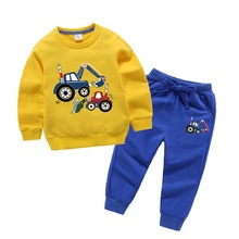 Toddler Boys Girls Clothes Spring Autumn Children Clothing Sets Long Sleeved T-shirt+Pants Kids Boy Sport Suits 3 5 7 9 10 Years v tree girls clothing sets spring long sleeve t shirt pants costumes for kids sport suits for teenagers girls school uniform