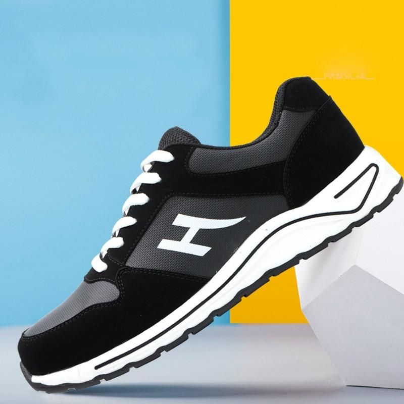 Ayakk.'ten Çalışma ve Güvenlik Botları'de Artı boyutu erkekler rahat çelik ayakkabı burnu iş güvenliği ayakkabıları şantiye işçi takım güvenlik botları koruyucu ayakkabı'da  Grup 1