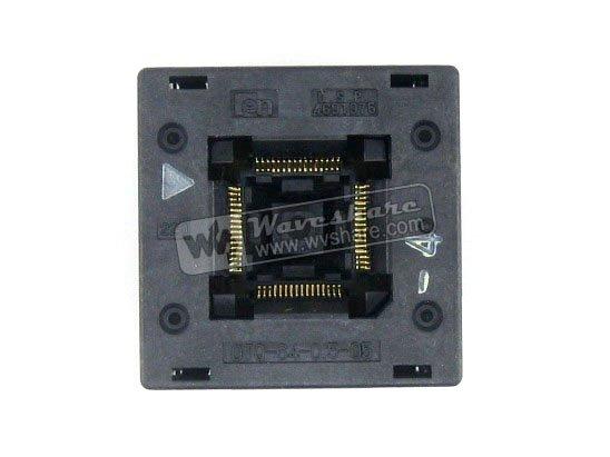 QFP64 TQFP64 LQFP64 PQFP64 OTQ-64-0.5-05 Enplas QFP IC Test Burn-In Socket Enplas 0.5mm Pitch IC Body Size10.5*10.5mm