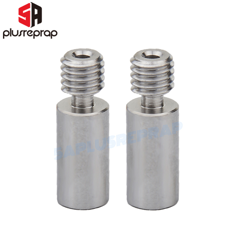 2pcs/lot Throat High-Temperature Stainless Steel Hotend Extruder for Reprap as 3D Printer Parts 1