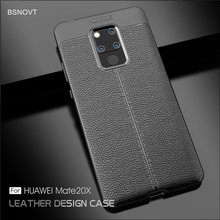 For Huawei Mate 20 X Case Soft TPU Silicone Shockproof Cover Funda 7.2 BSNOVT