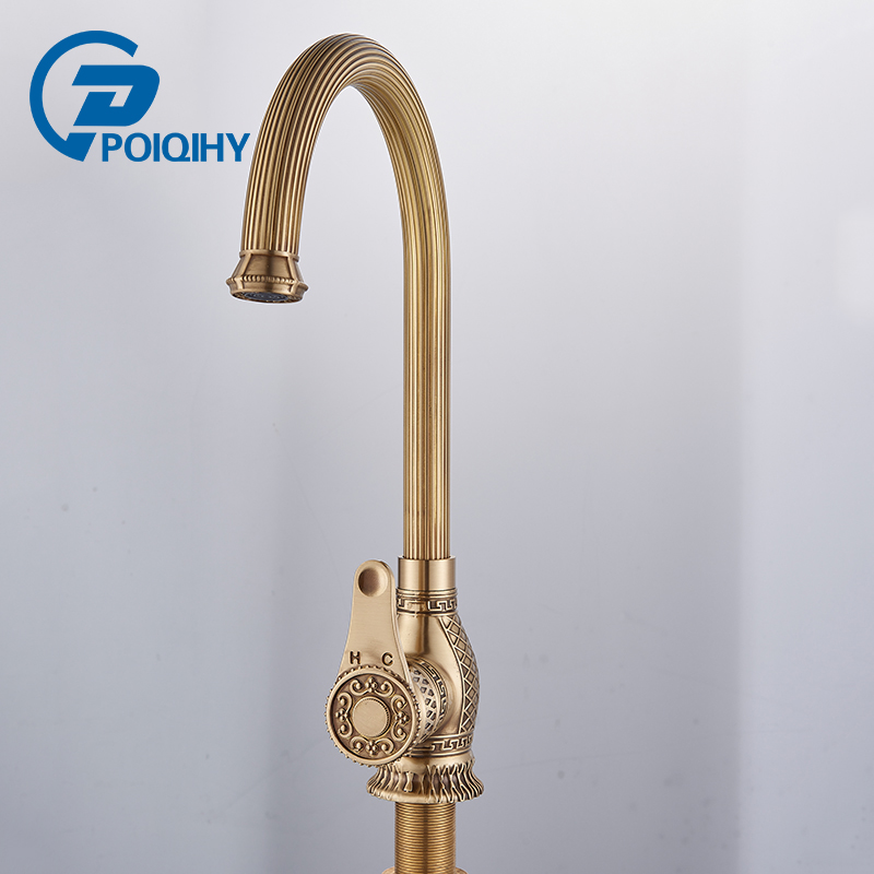Aliexpress.com : Buy POIQIHY Antique Brass Bathroom
