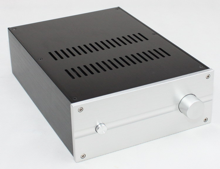WF1181 Full Aluminum Enclosure / Mini AMP Case/ Preamp Box/ Power Amplifier Chassis 222*92*310mm цена 2017