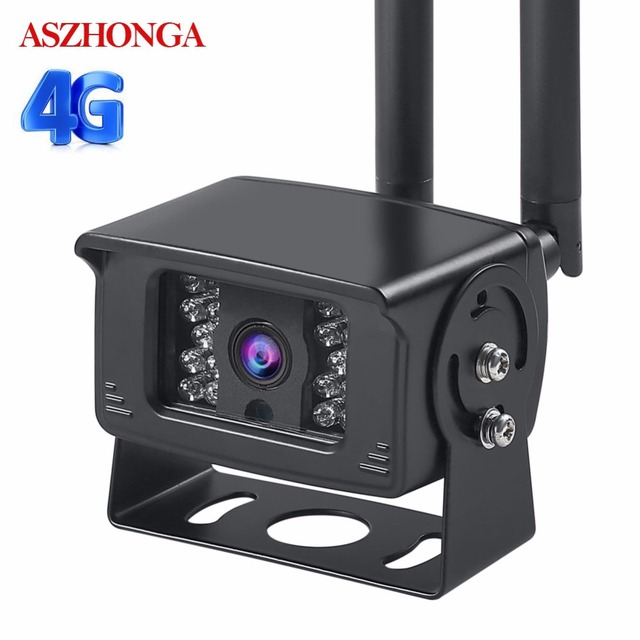 3G 4G بطاقة Sim كاميرا ip لاسلكية واي فاي 1080P في الهواء الطلق IP66 مقاوم للماء حافلة صغيرة CCTV الأمن مراقبة الأشعة تحت الحمراء للرؤية الليلية