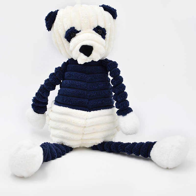 Kawaii listra coelho panda brinquedos de pelúcia animais de pelúcia coelho boneca brinquedos macios para crianças infantil dormir apaziguar brinquedo crianças presente