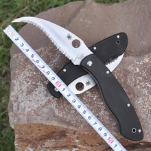 Hot selling G10 handle C12GS VG-10 blade 58HRC folding knife outdoor camping survival tool gift Tactical knives