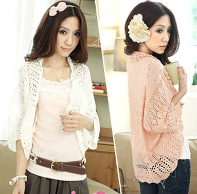 Free Shipping New 2020 Summer Batwing Sleeve Waistcoat Cardigan Loose Sweater