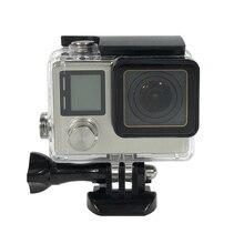 40 м водонепроницаемый корпус чехол для экшн-камеры Gopro Hero 4 3 + 3 знака после замены защитный погружения Корпус чехол для спортивной экшн-камеры Go Pro Hero4 3 + 3 Экшн Камера