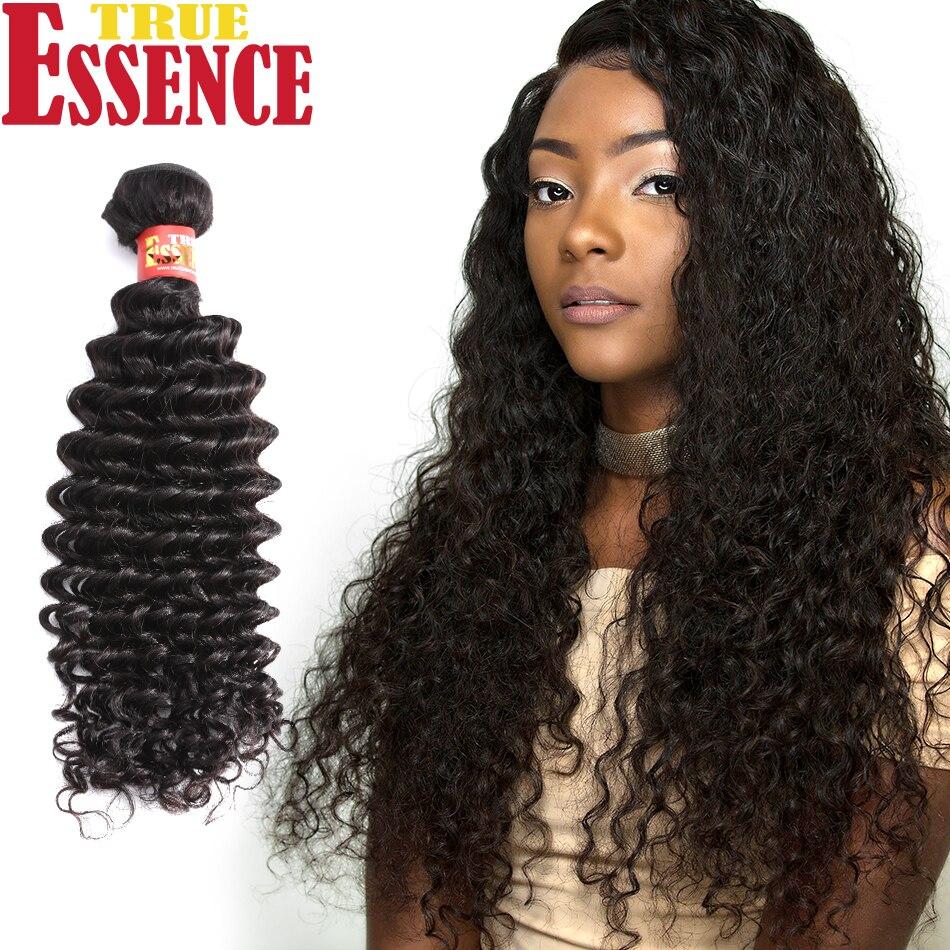 Aliexpress Buy True Essence Hair Brazilian Deep Wave Virgin