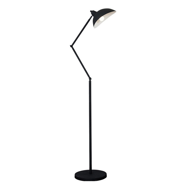 Modern Minimalist Industrial Floor Lamp Standing Lamps For Living Room  Reading Lighting Loft Iron Triangle Floor
