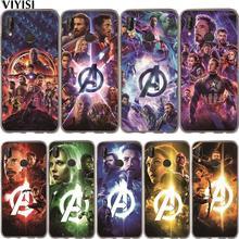 Marvel Avengers Iron Man Luxury Captain America Superhero Case Etui For Huawei Honor 10 Lite 10 9 8 7A 7C 7X 7 6A Coque Fundas hj125 7 7a 7c 8 f 428