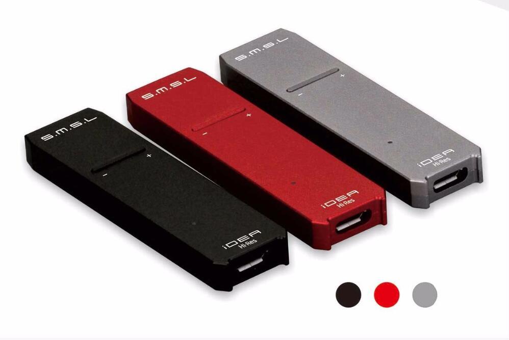 SMSL IDÉE SABRE9018Q2C XMOS DSD512 32Bit/768 kHz Hifi Audio Mini Portable Décodeur DSD USB OTG DAC Pour Smartphone Mobile Téléphone