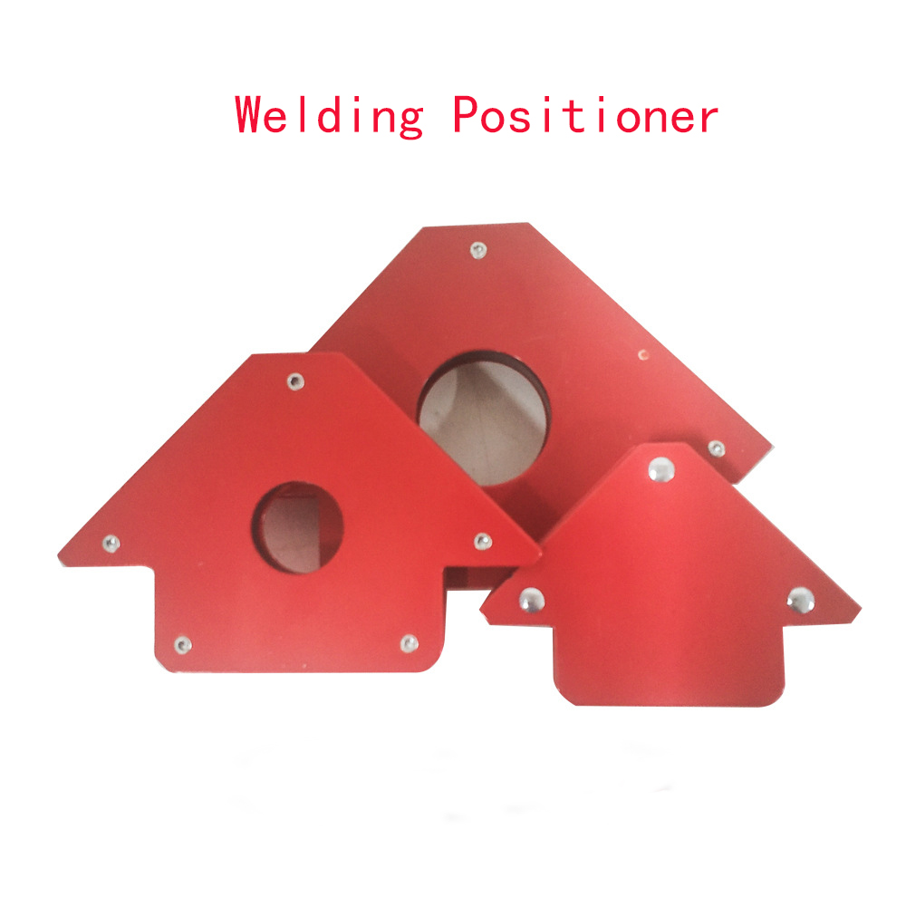 1PCS 75 LBS Soldering Locator Strong Magnet Welding Magnetic Holder 3 Angle Arrow Welder Positioner Power Tool Accessories