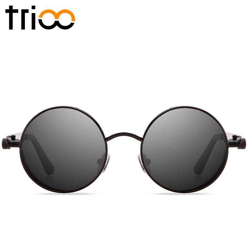 d29487ce68 Dropwow TRIOO Polarized Sun Glasses For Men Driving Steampunk Style ...