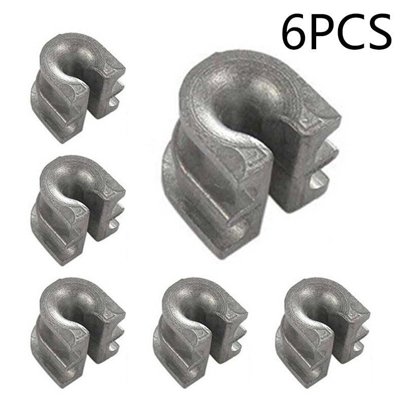 6pcs Trimmer Head Eyelet Sleeve For Stihl FS90 FS100 FS200 FS55 FS70 FS80 FS85 Eyelet Line Retainers Tools Parts High Quality