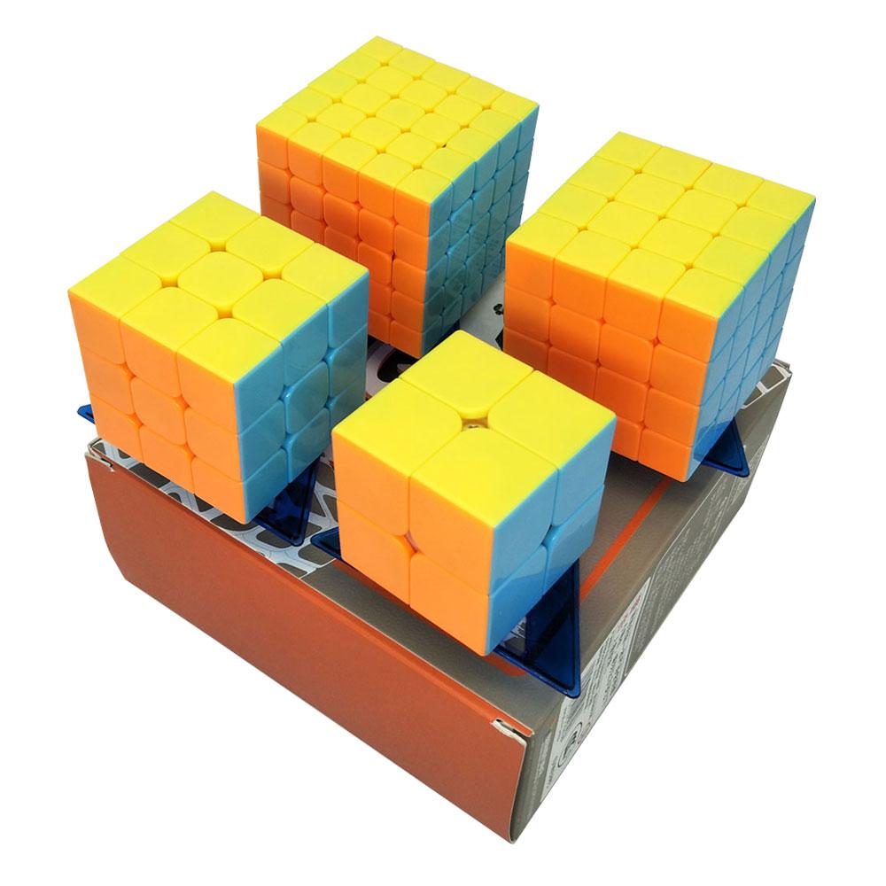 Gewidmet Yj Cubo Magico Stickerless Hohe Qualität Neo Cube 3 Arten Sets Cube Spiel Puzzle Spielzeug Für Kinder Erwachsene Gehirn Spielzeug Geschenk Reinweiß Und LichtdurchläSsig Rätsel & Spiele