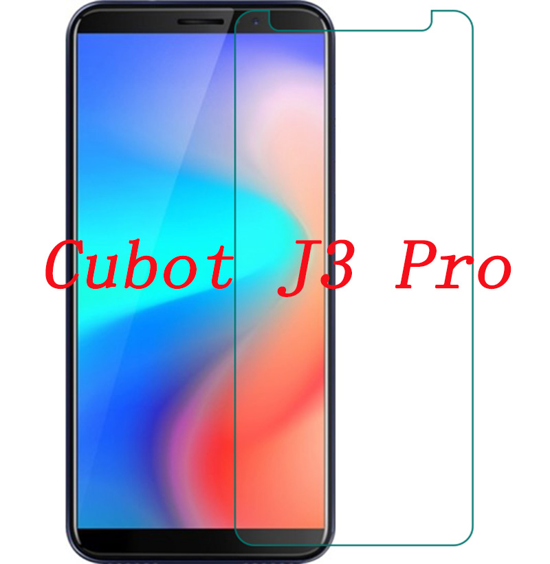 Smartphone 9H Tempered Glass  for Cubot J3 Pro J3pro 5.5  Protective Film Screen Protector cover phone