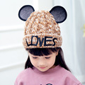 children crochet beanie Baby Girls Boys Beanie Hats Kids Children Knit Sweater Cap Hats Winter Warm Knitted hats