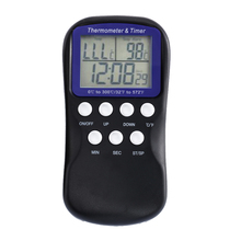 Promo offer Digital Food Probe Oven Thermometer Timer Temperature Sensor LCD Meat Thermometer BBQ Temperature Gauge Cooking Tools