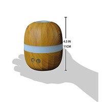 Reed Diffuser Sets Humidifier Banana Wood Grain Humidifier Aromatherapy Machine Plastic Cool Mist LED USB Humidifiers Nov22