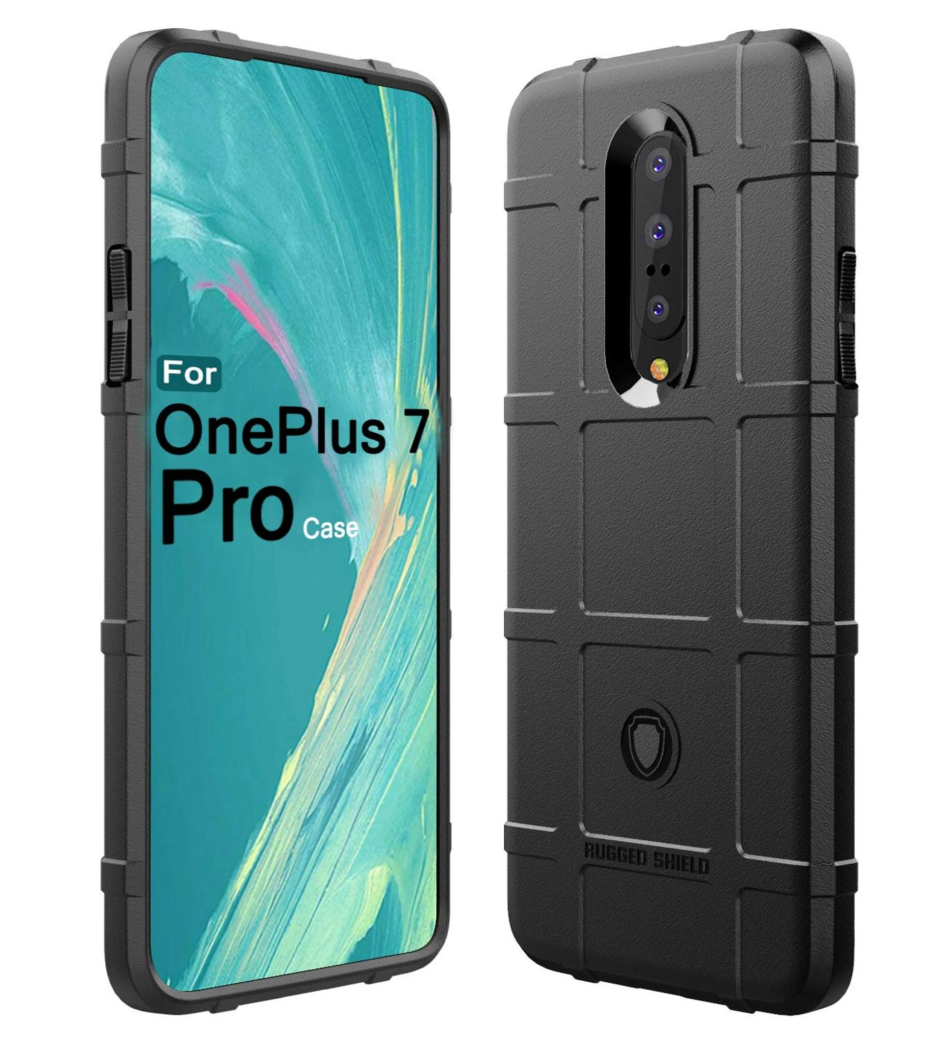 Conelz For Oneplus 7 Pro Case TPU Case Cover Shockproof Amor Case Rugged Shiled Case for Oneplus 7 6T-in Half-wrapped Cases from Cellphones & Telecommunications