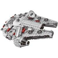 367 Pcs Star Wars Set Millennium Falcon Factory Sale Compatible Legoings Model Building Blocks Toys For