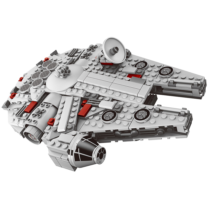 367 Pcs Star Wars Set Millennium Falcon Factory Sale Compatible Legoings Model Building Blocks Toys for children Figures Bricks single sale star wars superhero orca shark series building blocks model bricks toys for children brinquedos menino