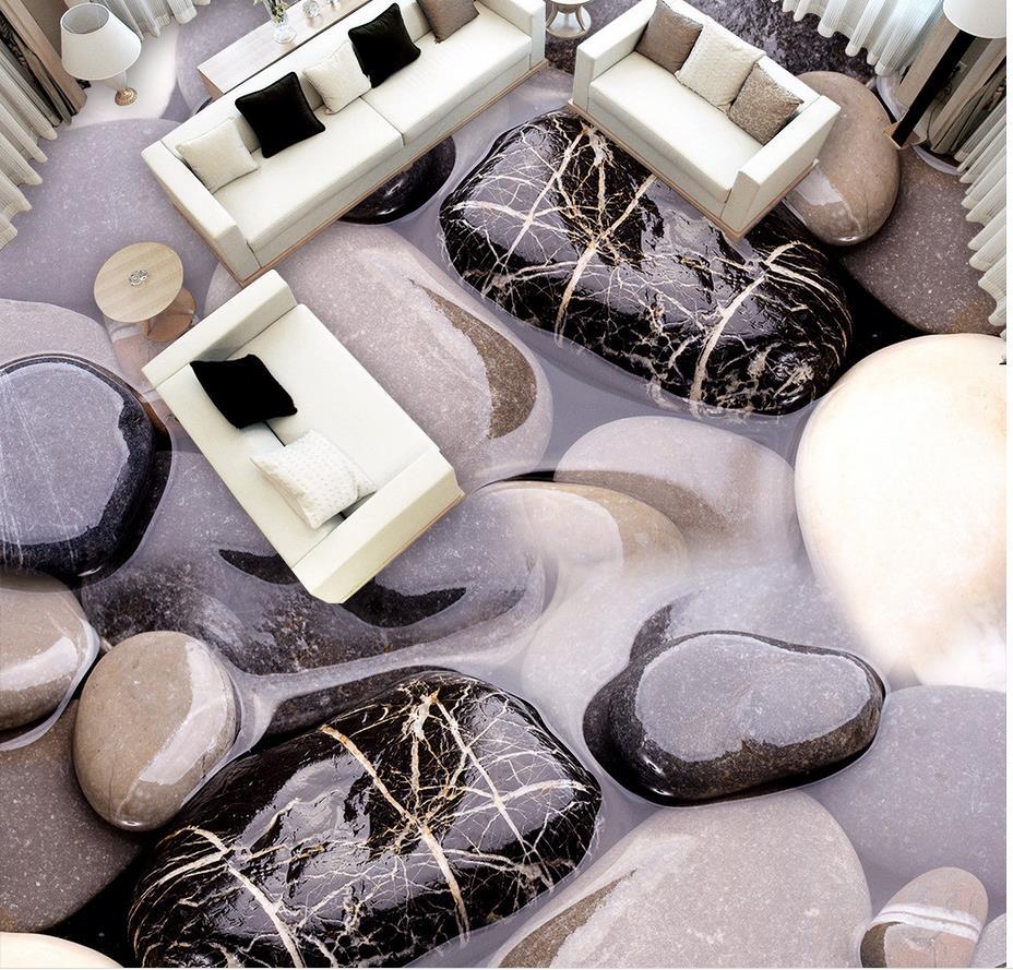 3D stone bathroom floor papel parede mural wallpaper floor Home Decoration 3d murals wallpaper for living room 3d stereoscopic stone water 3d wall murals wallpaper floor 3d wallpaper floor for living room home decoration
