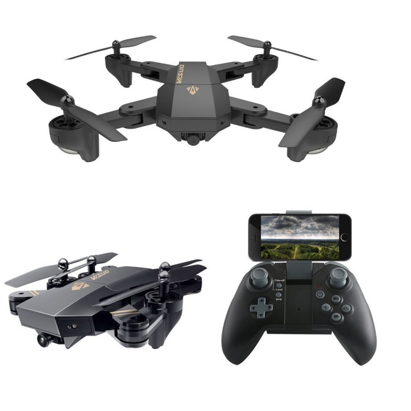 все цены на Visuo XS809HW XS809W Mini Foldable Selfie RC Drone With FPV HD Camera Altitude Hold Quadcopter Helicopter VS E58 Dron