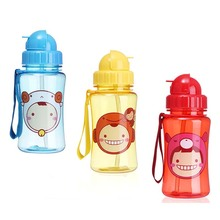 Convenient Rotating Eco-Friendly Plastic Kid's Water Bottle