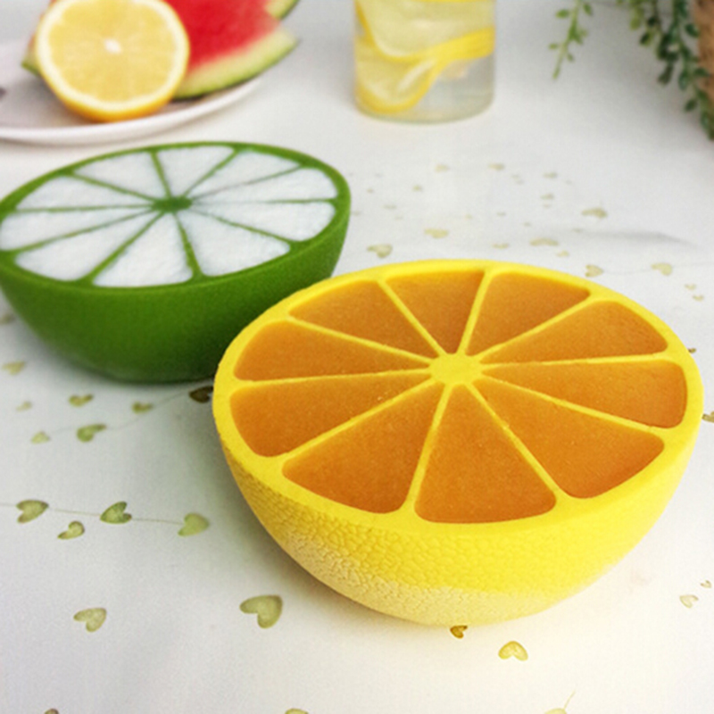 New Diy Ice Cube Mold 10 Grid Lemon Shaped Ice Cream Tray Maker Mould Kitchen Accessories 2 Colors In Ice Cream Makers From Home Garden On Aliexpress Com