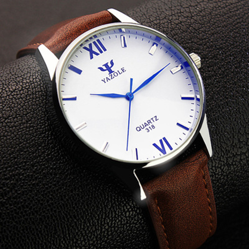 Business Watch Men Wristwatch Sport Watches Men's Watch Clock YAZOLE Luxury Brand watches relojes para hombre relogio masculino lin king sweet bowtie round toe buckle lolita shoes new style summer fashion sexy lady pumps women shoes high heel party shoes