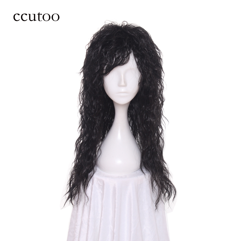 Hair Extensions & Wigs Ccutoo Womens Synthetic Hair Straight Grey Long Harajuku Cosplay Costume Wig Synthetic Wigs
