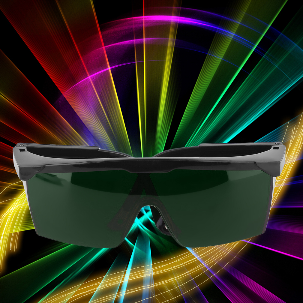 цена Protection Goggles Laser Safety Glasses Green Blue Red Eye Spectacles Protective Eyewear Green Color