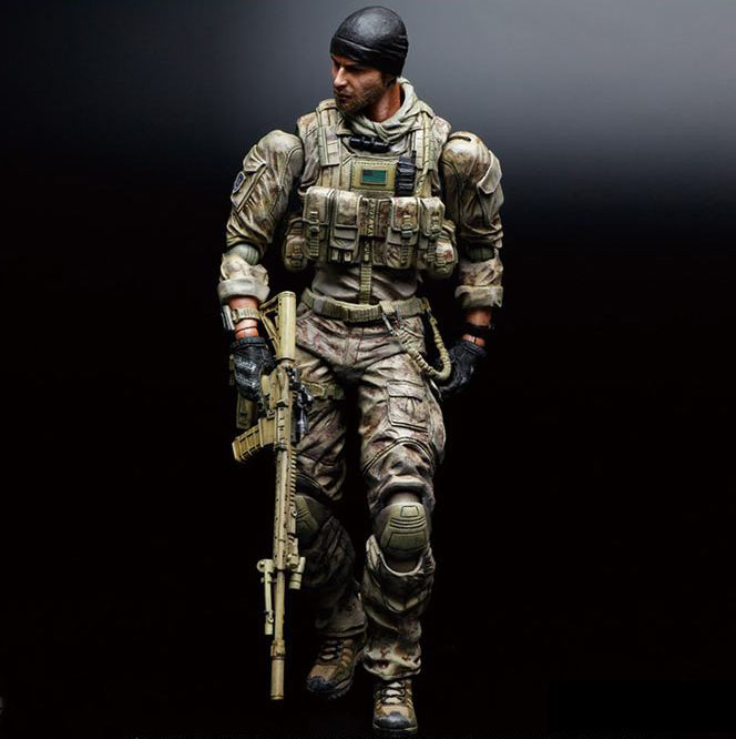 Free Shipping 11 PA KAI Game Medal of Honor Warfighter Tom Preacher 27cm PVC Action Figure Collection Model Doll Toy Gift