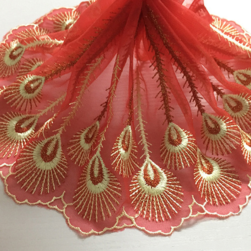 Arts,crafts & Sewing 3 Meters 1.3cm Width Pink Red High Quality Novelty Diy Lace Fabric Water Soluble Lace Clothing Materials Lace Diy Accessories The Latest Fashion