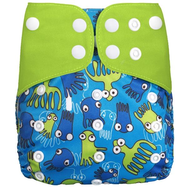 [Simfamily] Новые детские тканевые подгузники, регулируемые подгузники для мальчиков и девочек, Моющиеся Водонепроницаемые Многоразовые подгузники для новорожденных - Цвет: NO15
