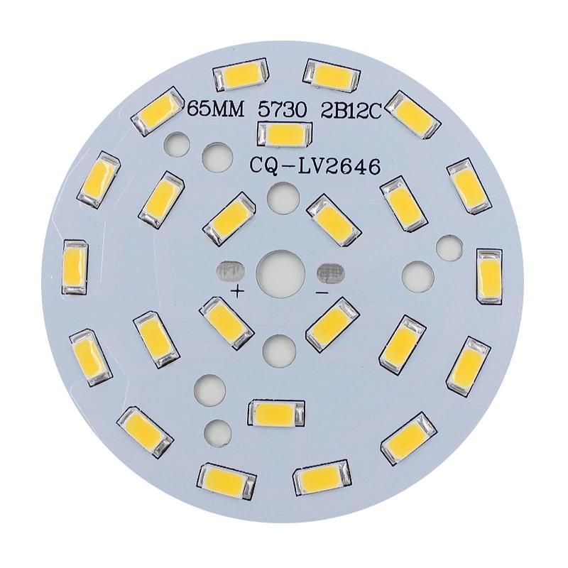 10pcs 3W 5W 7W 9W 12W 15W 18W 20W 24W 5730 Brightness SMD Light Board Led