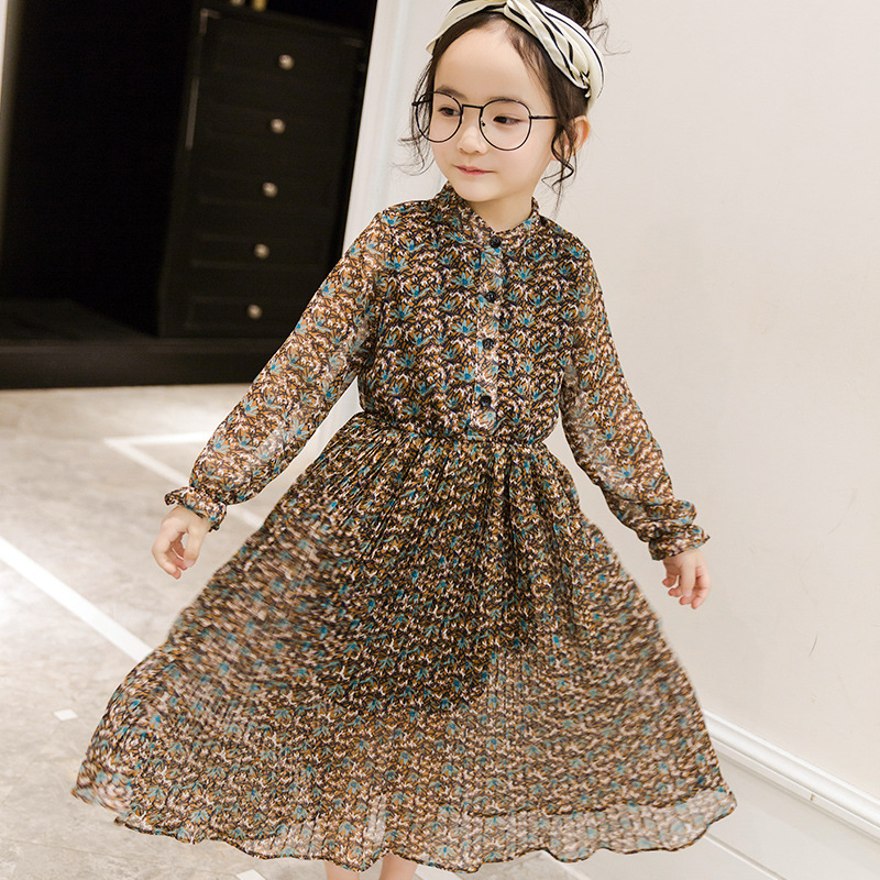 Подробнее о Girls dress Floral Chiffon dresses Vestidos Kids clothes Robe fille enfant 2017 Summer dress girl Beach clothing Prom dresses baby girl dress 2016 brand girls summer dress children clothing lemon print kids dresses for girls clothes robe princesse fille