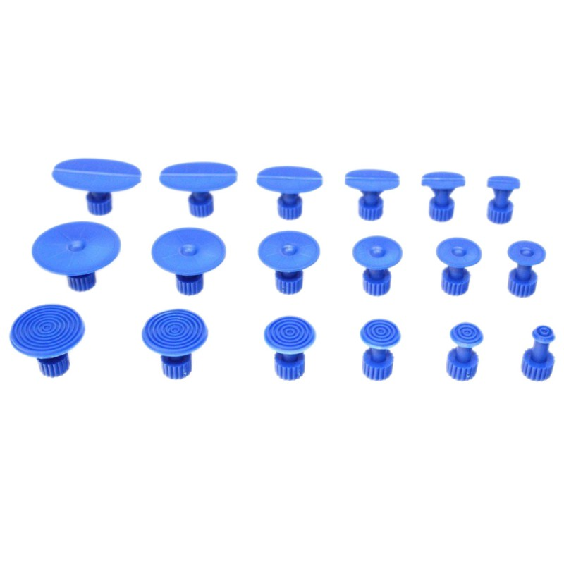 ONEWELL 18Pcs Car Dent Removal Body Repair Kit Auto Body Dent Repair Tool Pulling Tabs Glue Pulling Tabs PDR Glue Tab