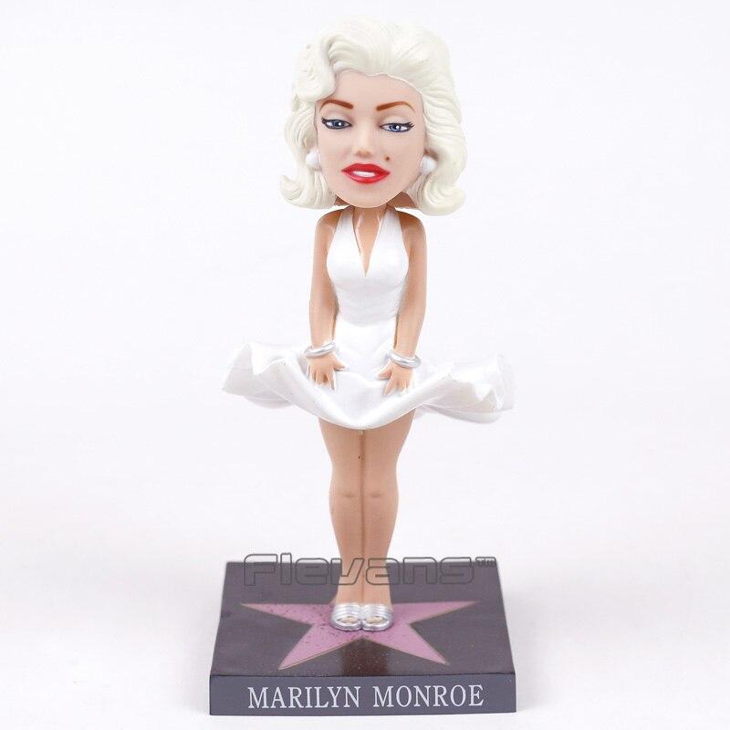 Marilyn Monroe Wacky Wobbler Bobble Head PVC Action Figure Collection Toy Doll 17cm  funko pop marvel loki 36 bobble head wacky wobbler pvc action figure collection toy doll 12cm fkg120