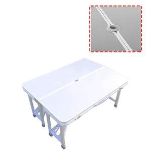 Image 5 - Portable Folding Table And Chair Outdoor Picnic Foldable Aluminum Alloy Desk Chairs