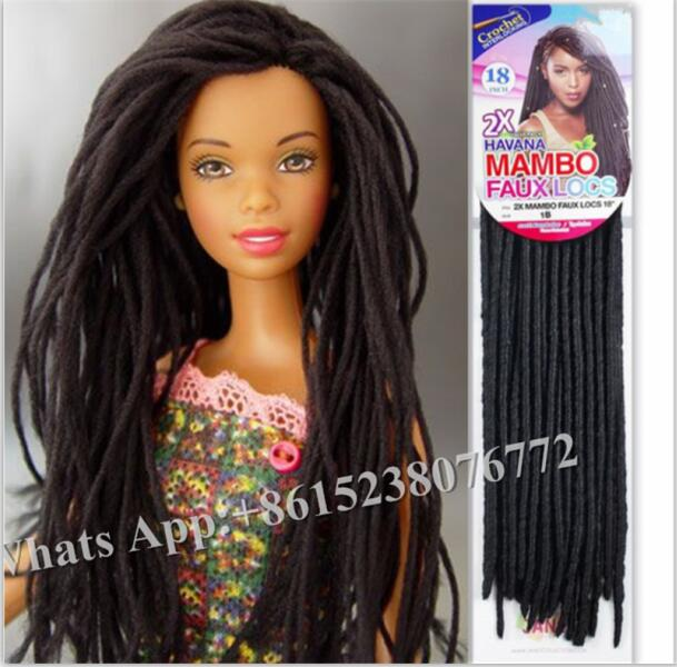 Crochet Braids Faux Locs : .com : Buy 2X MAMBO FAUX LOCS 14 JANET COLLECTION CROCHET HAIR BRAID ...