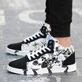 Envío libre para la primavera y el otoño de alta zapatos casuales Coreanos el aumento de un deporte Amantes patea Los zapatos tienen 35-47 código