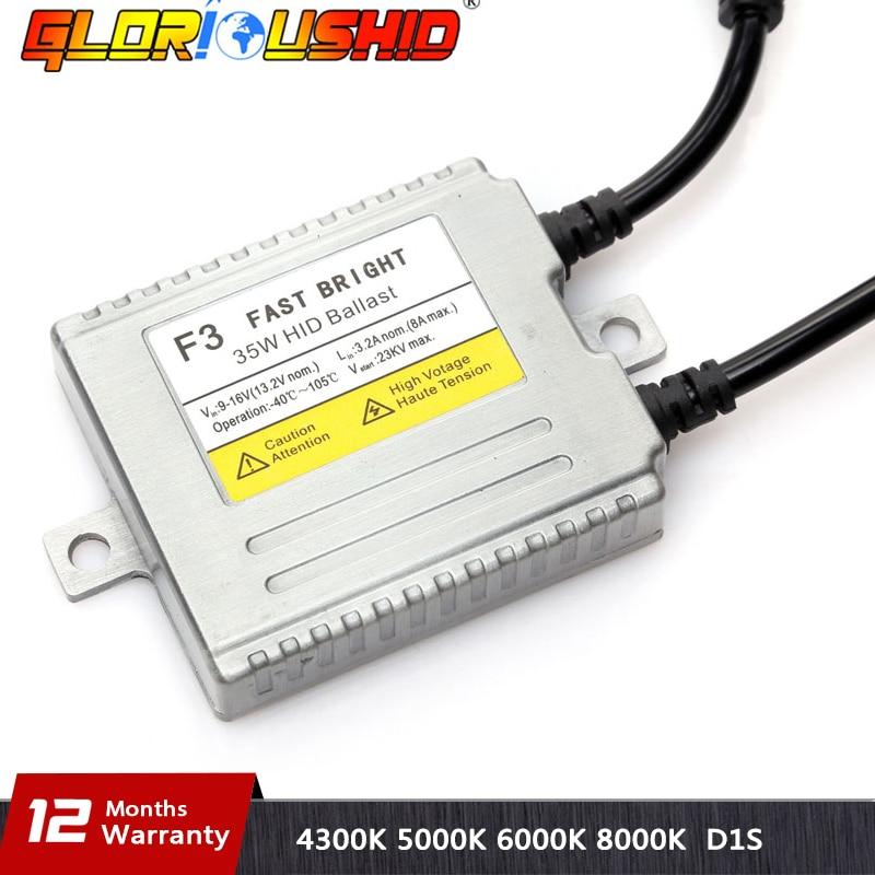 1pc AC 12V 35W Xenon Ballast Fast bright F3 Digital Conversion Ballast H4 H7 H1 H3 H8 H9 H11 9005 9006 881 Hid Ballast